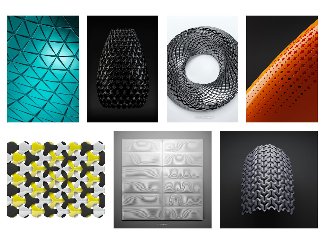 Parametric Designs by Marco Traverso